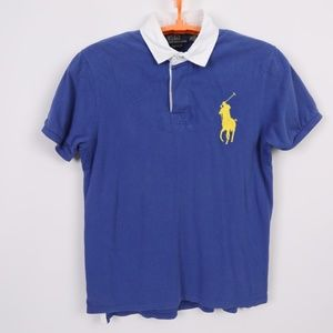 VTG POLO Ralph Lauren BIG PONY Polo Golf Shirt XL